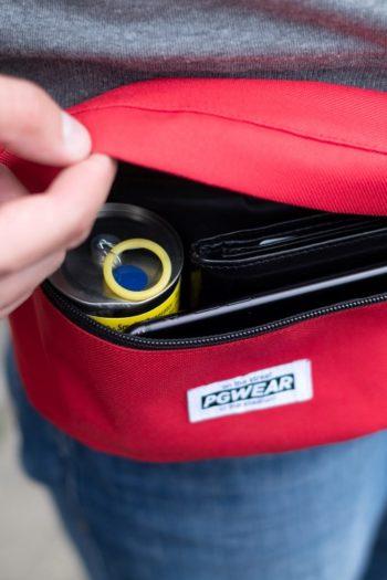 De rode heuptas van PGwear bestel je natuurlijk bij PGwear Nederland, de officiële webshop voor Nederland en België