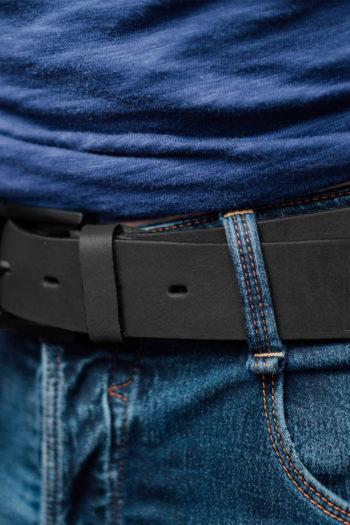 De zwarte leren riem van PGwear bestel je natuurlijk bij PGwear Nederland, de officiële webshop voor Nederland en België