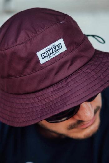 De bucket hat safari maroon van PGwear bestel je natuurlijk bij PGwear Nederland, de officiële webshop voor Nederland en België