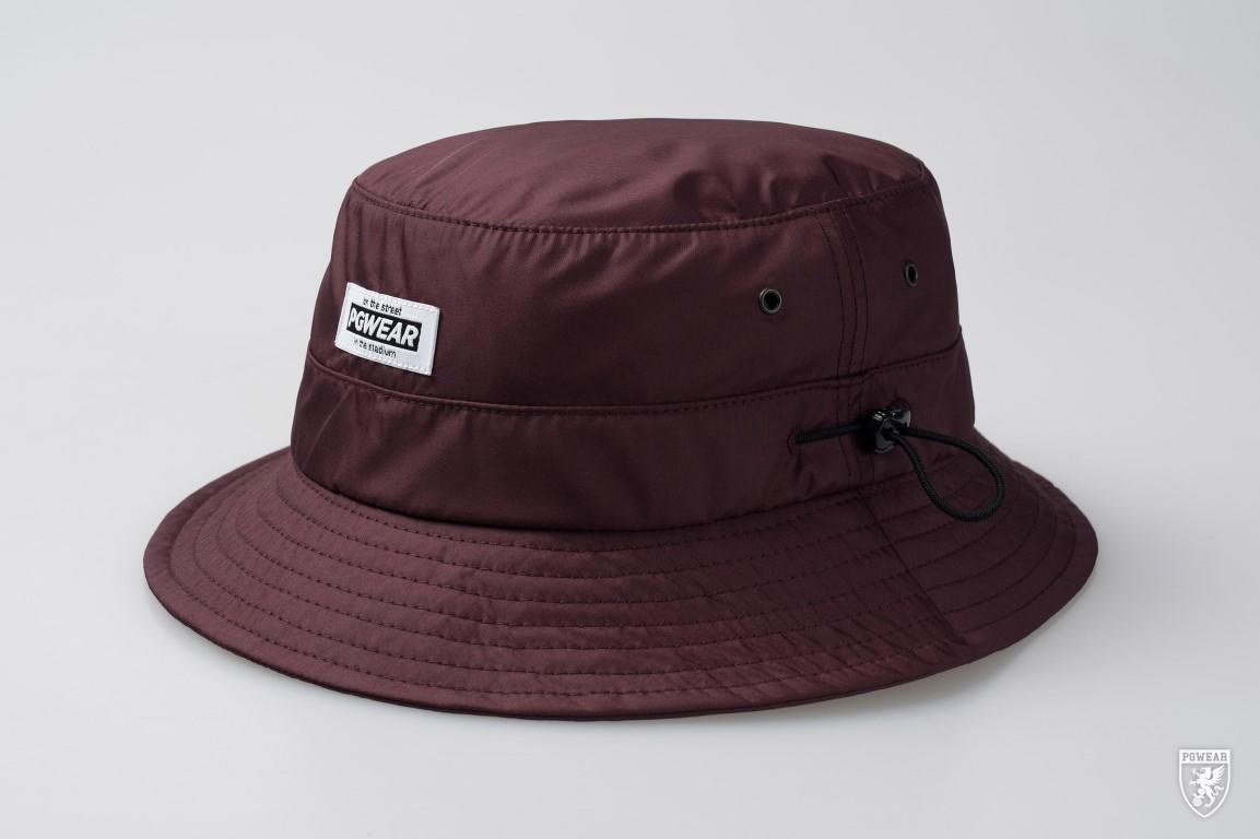 De bucket hat safari maroon van PGwear bestel je natuurlijk bij PGwear  Nederland 6bfafb953c6