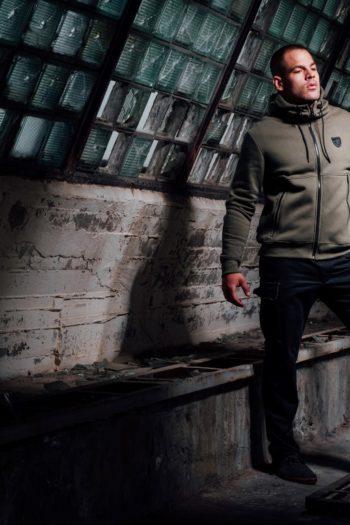 De full face hoodie fury olive hoodie van PGwear bestel je natuurlijk bij PGwear Nederland, de officiële webshop voor Nederland en België