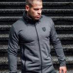 De grijze full face hoodie van PGwear bestel je natuurlijk bij PGwear Nederland, de officiële webshop voor Nederland en België