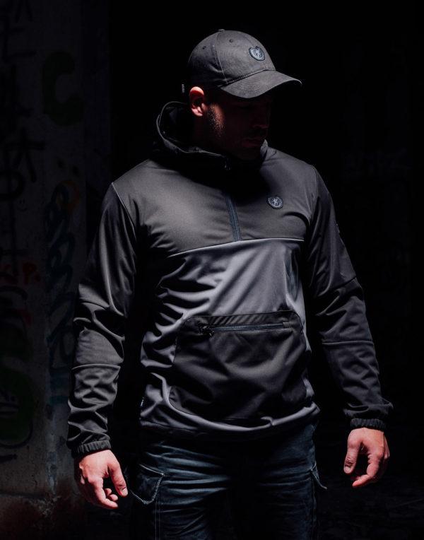 De grijze full face softshell jas van PGwear bestel je natuurlijk bij PGwear Nederland, de officiële webshop voor Nederland en België