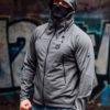 Full Face Softshell Jacket Shadow Grey