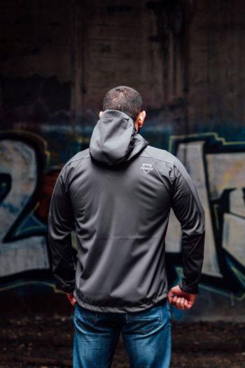 De shadow grey full face softshell jas van PGwear bestel je natuurlijk bij PGwear Nederland, de officiële webshop voor Nederland en België