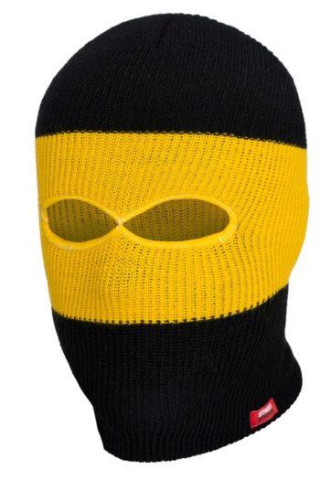De zwarte gele troublemaker muts van PGwear bestel je natuurlijk bij PGwear Nederland, de officiële webshop voor Nederland en België
