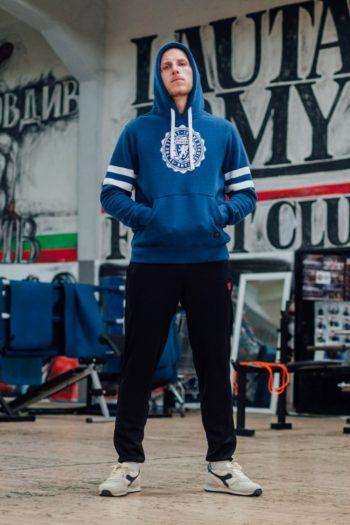 De college blue hoodie van PGwear bestel je natuurlijk bij PGwear Nederland, de officiële webshop voor Nederland en België