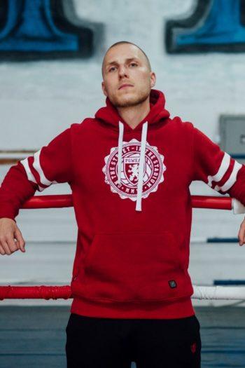 De college red hoodie van PGwear bestel je natuurlijk bij PGwear Nederland, de officiële webshop voor Nederland en België