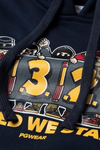 De united we stand hoodie van PGwear bestel je natuurlijk bij PGwear Nederland, de officiële webshop voor Nederland en België