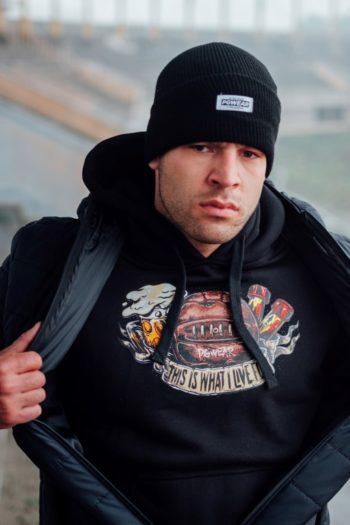 De what i live for zwarte hoodie van PGwear bestel je natuurlijk bij PGwear Nederland, de officiële webshop voor Nederland en België