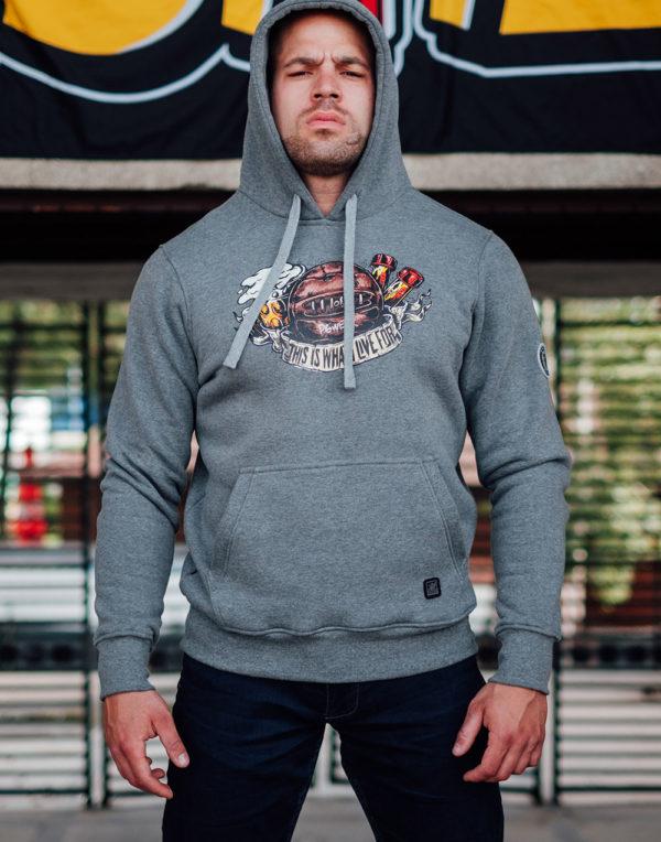 De what i live for grey hoodie van PGwear bestel je natuurlijk bij PGwear Nederland, de officiële webshop voor Nederland en België