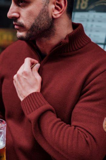 De icon burgundy sweater van PGwear bestel je natuurlijk bij PGwear Nederland, de officiële webshop voor Nederland en België