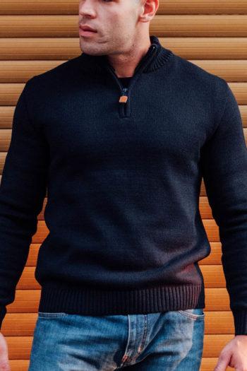 De icon navy sweater van PGwear bestel je natuurlijk bij PGwear Nederland, de officiële webshop voor Nederland en België