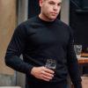 Sweatshirt Regular Black