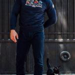 De regular navy sweater van PGwear bestel je natuurlijk bij PGwear Nederland, de officiële webshop voor Nederland en België