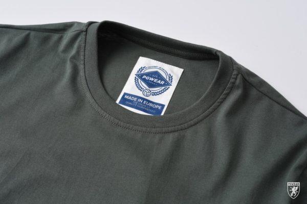 Het basic groene t-shirt van PGwear bestel je natuurlijk bij PGwear Nederland, de officiële webshop voor Nederland en België