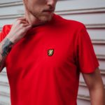Het basic rode t-shirt van PGwear bestel je natuurlijk bij PGwear Nederland, de officiële webshop voor Nederland en België