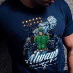 Het bright side t-shirt van PGwear bestel je natuurlijk bij PGwear Nederland, de officiële webshop voor Nederland en België