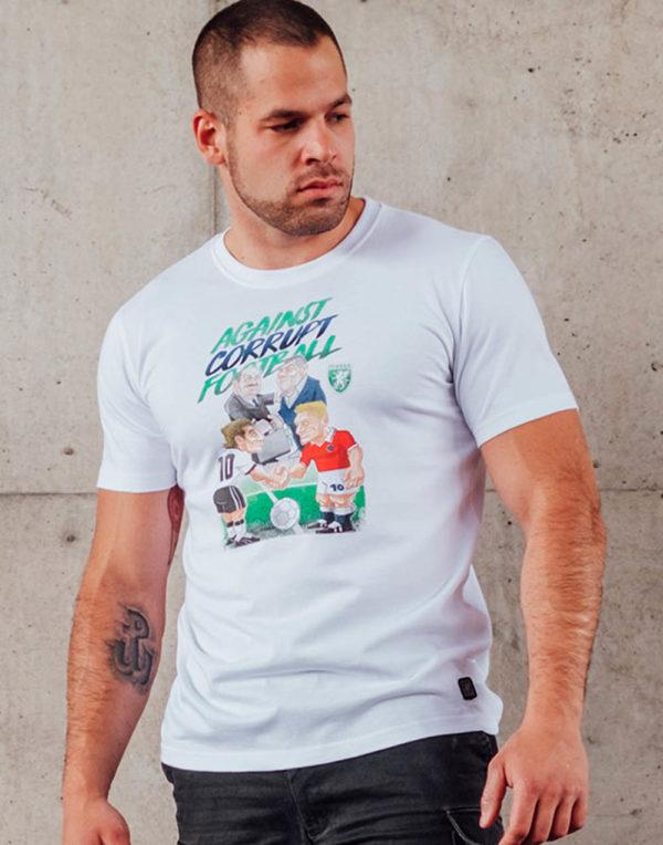 Het corrupt football t-shirt van PGwear bestel je natuurlijk bij PGwear Nederland, de officiële webshop voor Nederland en België