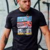 T-shirt Triathlon Black