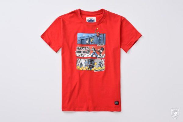 Het rode triathlon t-shirt van PGwear bestel je natuurlijk bij PGwear Nederland, de officiële webshop voor Nederland en België