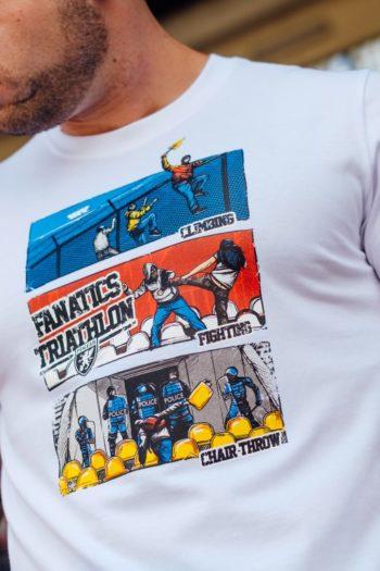 Het witte triathlon t-shirt van PGwear bestel je natuurlijk bij PGwear Nederland, de officiële webshop voor Nederland en België