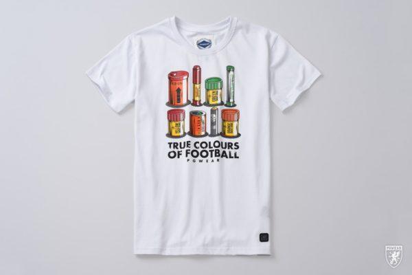 Het true colours of football t-shirt van PGwear bestel je natuurlijk bij PGwear Nederland, de officiële webshop voor Nederland en België