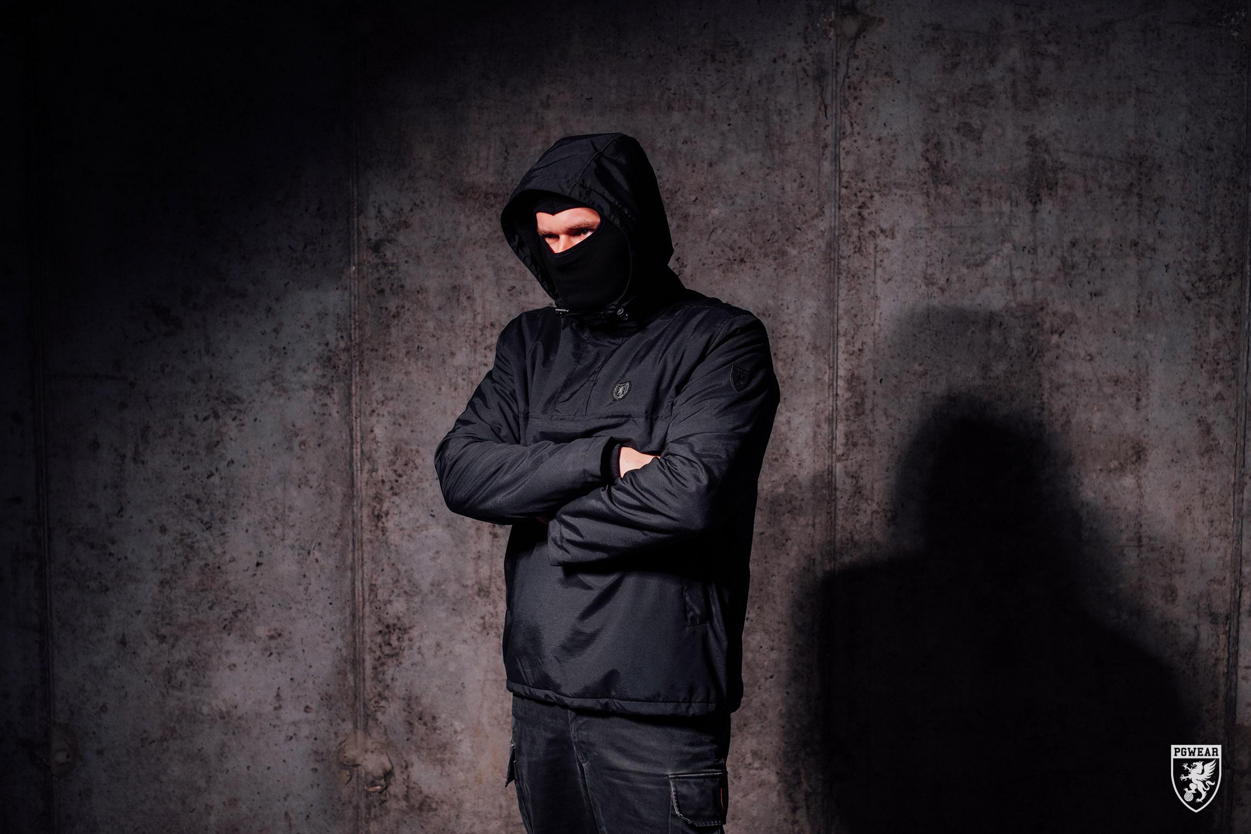 Koop de attack black jas van pgwear bij PGwear Nederland