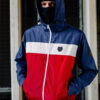 Full Face Jacket Invader Blue/Red