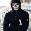 Mask Hoodie Rage Skull