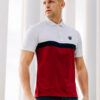 Polo Oldschool White/Red
