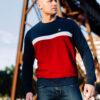 Sweatshirt Oldschool Navy/Red
