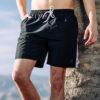 Swimming Shorts Holiday Black