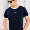 T-shirt Ribbon Navy